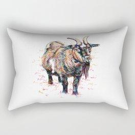 Inky Goat Rectangular Pillow