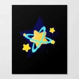 Popstar Canvas Print