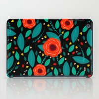 leah flores iPad Cases featuring Flores by Ary Marín