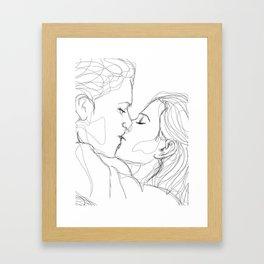 Kiss of Joy Framed Art Print