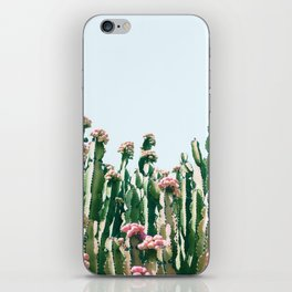 Blush Cactus #society6 #decor #buyart iPhone Skin