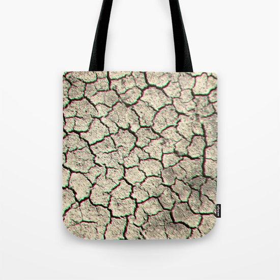 Trippy desert land Tote Bag