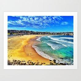 Bondi Beach, Sydney Australia Art Print