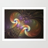 fractal Art Prints featuring Fractal by gabiw Art