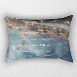 The Gods Rectangular Pillow