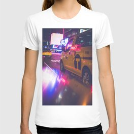 Taxi NYC Life (Color) T-shirt
