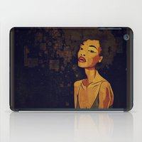 afro iPad Cases featuring afro - Soul by Mike Koubou