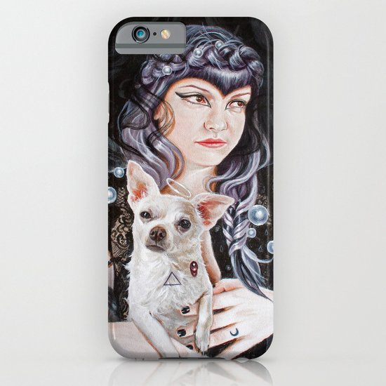 She Brings the Night iPhone & iPod Case