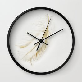Feather Light Wall Clock