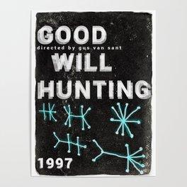 Good Will Hunting   Gus Van Sant Poster