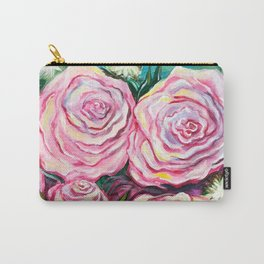May Tea Roses Carry-All Pouch