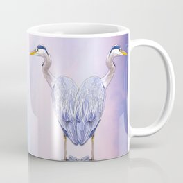 A heart for herons Coffee Mug