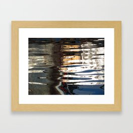 abstract reflections Framed Art Print