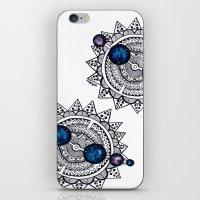interstellar iPhone & iPod Skins featuring Interstellar by HaleySayersArt