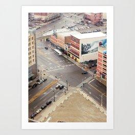 Downtown Detroit 3 Art Print
