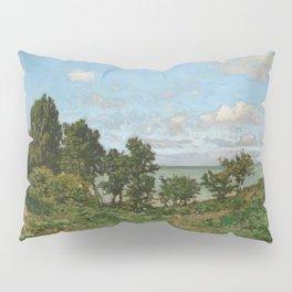 Claude Monet - Coastal landscape Pillow Sham