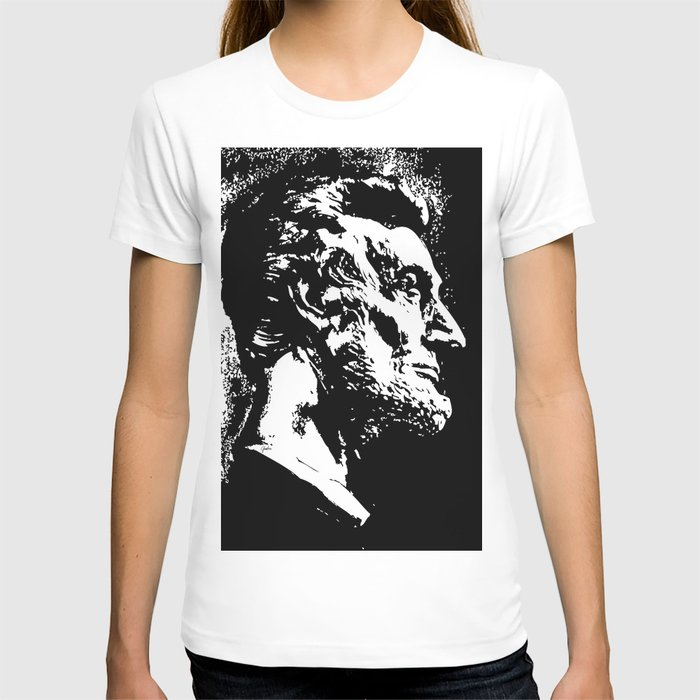 Face Lincoln T-shirt
