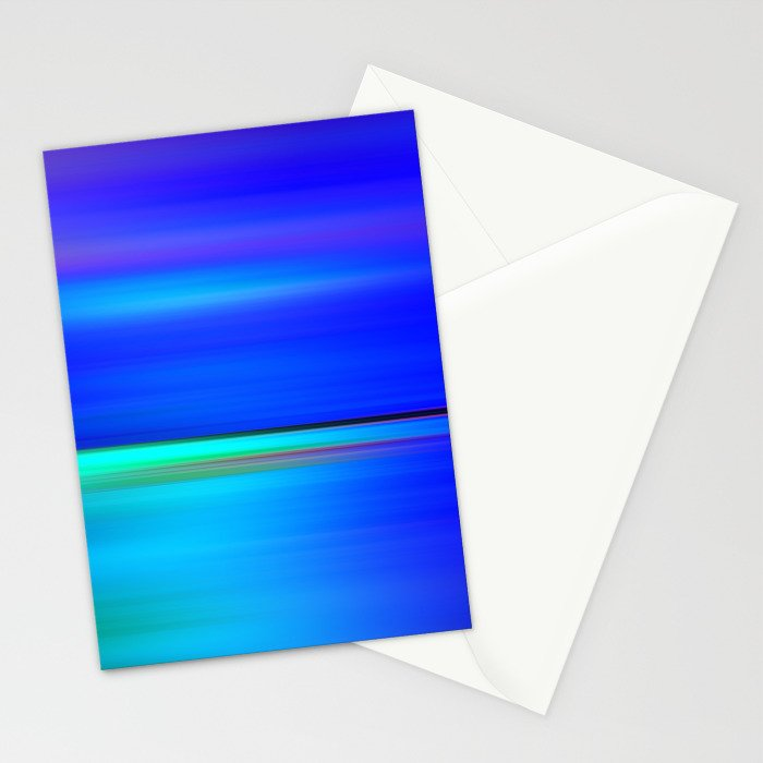 Night light abstract Stationery Cards