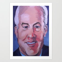 Taliban Republican: John Cornyn Art Print