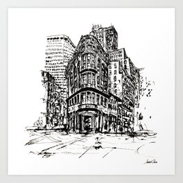 Urban Inkscape 7 London Art Print