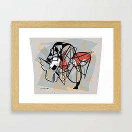 Guests of a dream Framed Art Print