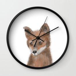 fox Wall Clock