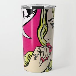 I love Banksy graffiti Travel Mug