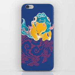 Fish Funny Dog Costume - Sea Collection iPhone Skin