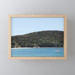 Sailing the Bay Framed Mini Art Print