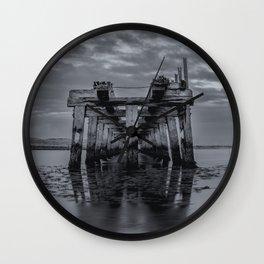 Old Wooden Bridge 2 Wall Clock