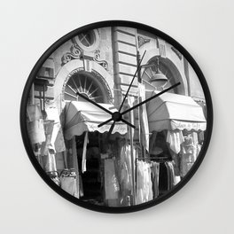Lace Shop Wall Clock