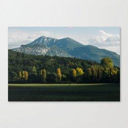 Moustiers-Sainte-Marie Canvas Print