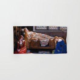 "John Collier ""The Sleeping Beauty"" Hand & Bath Towel"