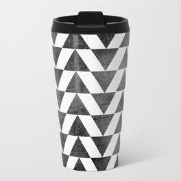 Triangle - Yellow II Travel Mug