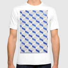 AZULEJOS | PHOTOGRAPHY | PRINT DOWLOAD White Mens Fitted Tee MEDIUM