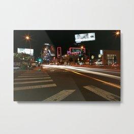 Sunset Blvd LA Metal Print