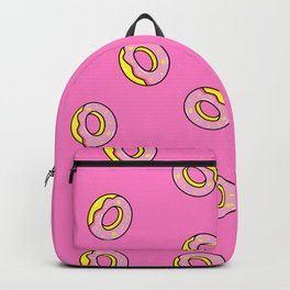 Donuts Pink Backpack