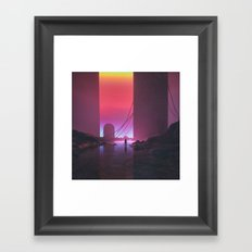 MAXIMAL.GRADIENT9 (everyday 05.15.17) Framed Art Print