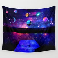 universe Wall Tapestries featuring Universe by haroulita