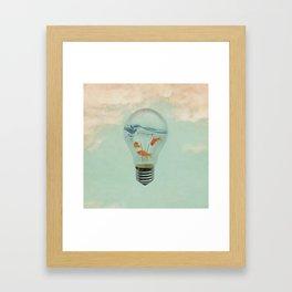 Ideas and Goldfish (RM) Framed Art Print