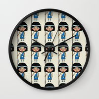army Wall Clocks featuring Army pattern by Rceeh