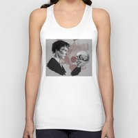 hamlet Tank Tops featuring Hamlet  by Cécile Pellerin
