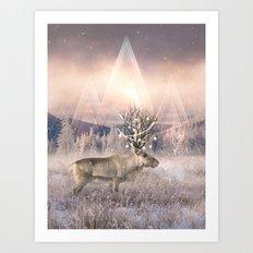 Stillness of Winter Art Print