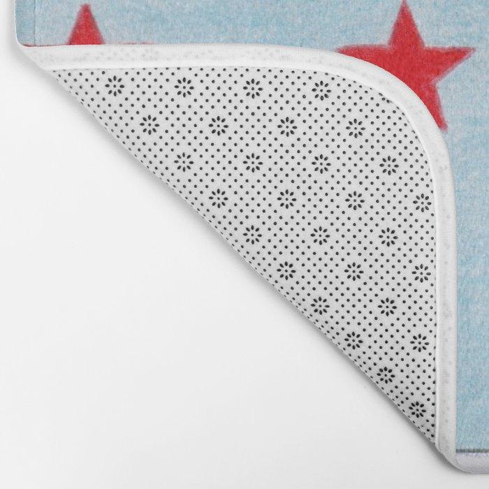 Union Mediterraneenne flag Bath Mat