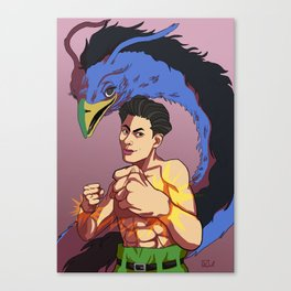Spirit Detective Canvas Print