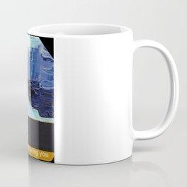Subway Card Empire State Building No. 1 Coffee Mug