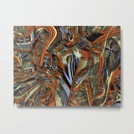 Decorative futility Metal Print