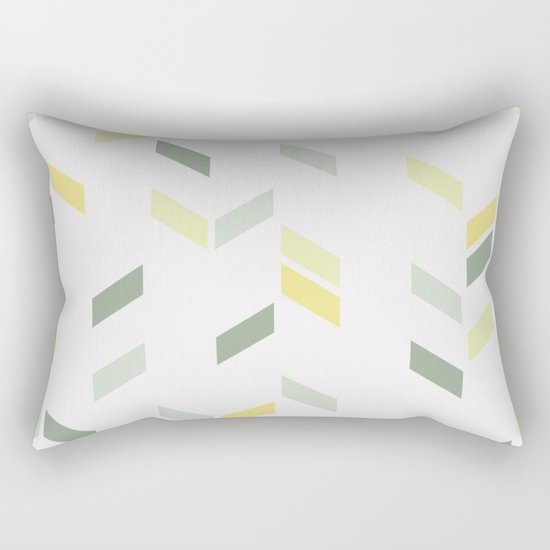 Geometric Confetti (Tropical Party) Rectangular Pillow