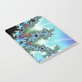 Blue Crab Fractal Notebook
