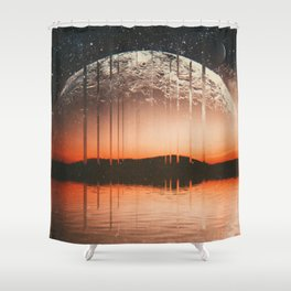 NIBĮR Shower Curtain